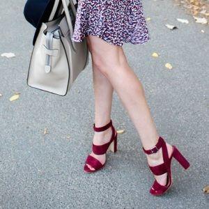 Madewell Octavia Cabernet Sandals Size 8